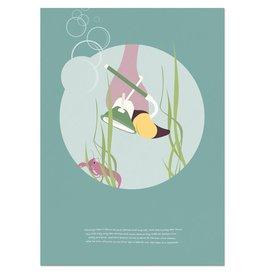 norsuStories Poster Flamingo & verhaaltje