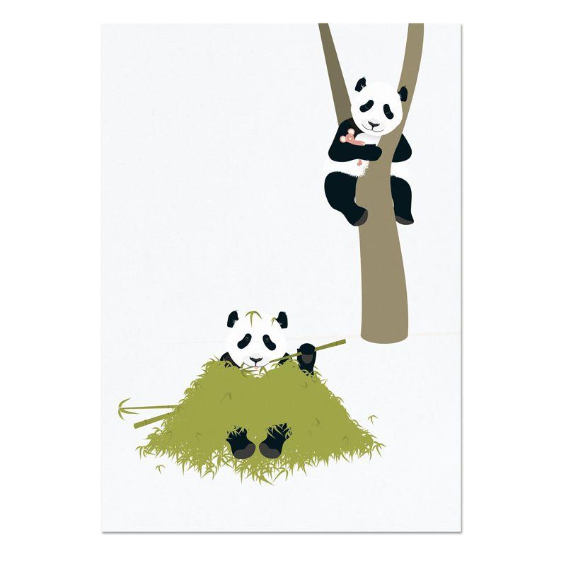 norsuStories Poster Panda A4