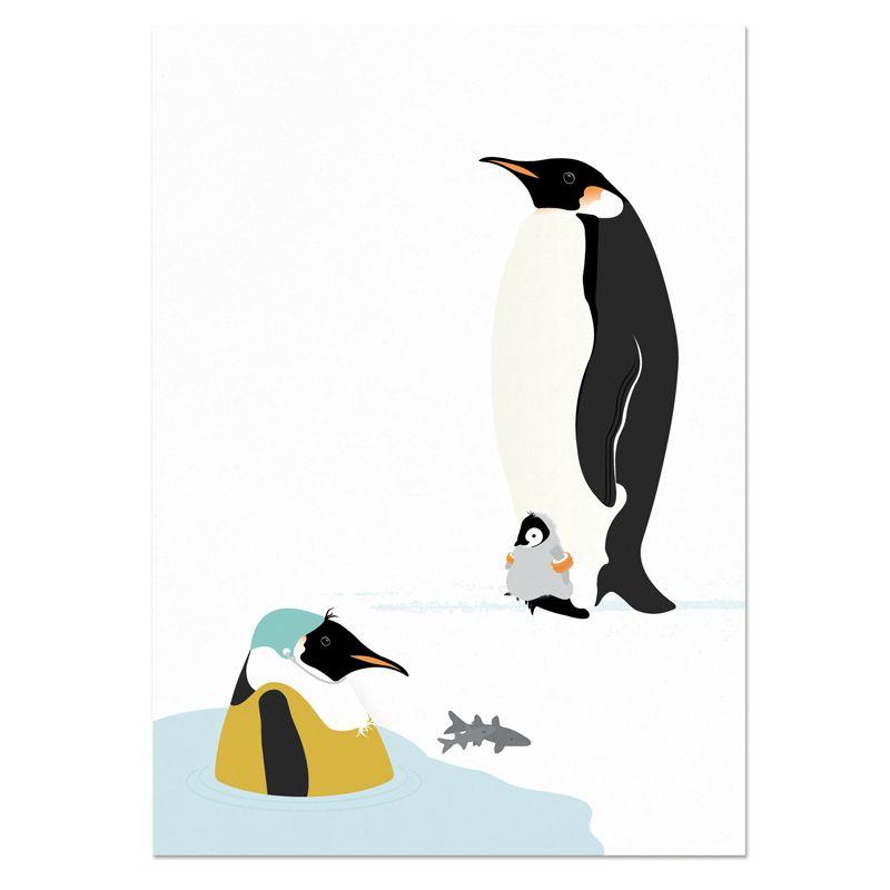 norsuStories Poster Pinguïn 50 x 70 cm