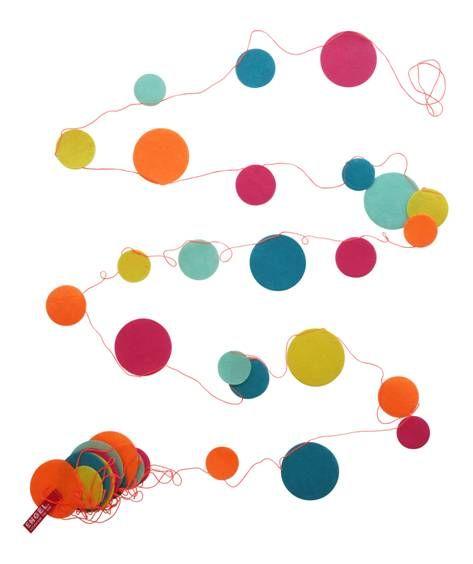ENGEL. Vilten confetti slinger kleur