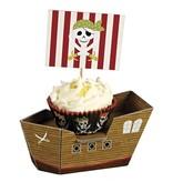 Meri Meri Piraten cupcake kit