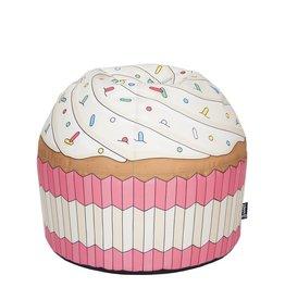 Woouf! Kinder zitzak Cupcake roze