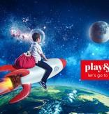 Play&Go Opbergzak - speelkleed Superheld
