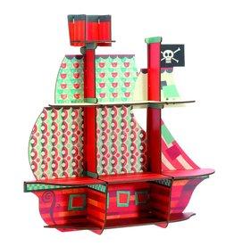 Little BIG Room - Djeco Wandkastje piratenschip