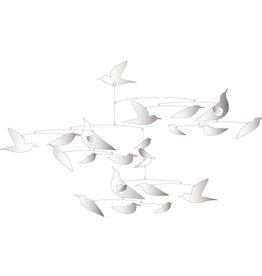 """Djeco - Little BIG Room Mobiel """"witte vogels"""""""