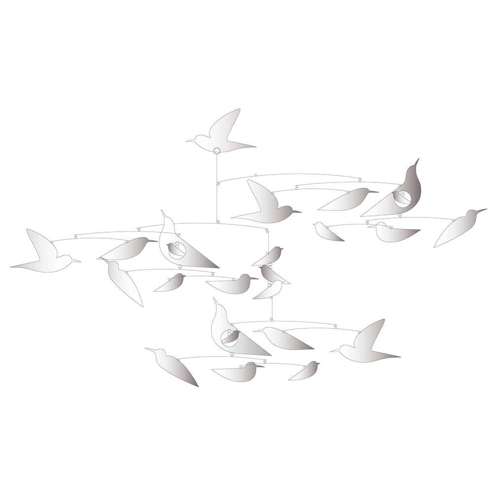 """Little BIG Room - Djeco Mobiel """"witte vogels"""""""
