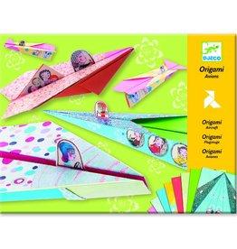 Djeco Vliegtuigjes vouwen - meisjes