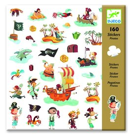 Djeco Stickers piraat