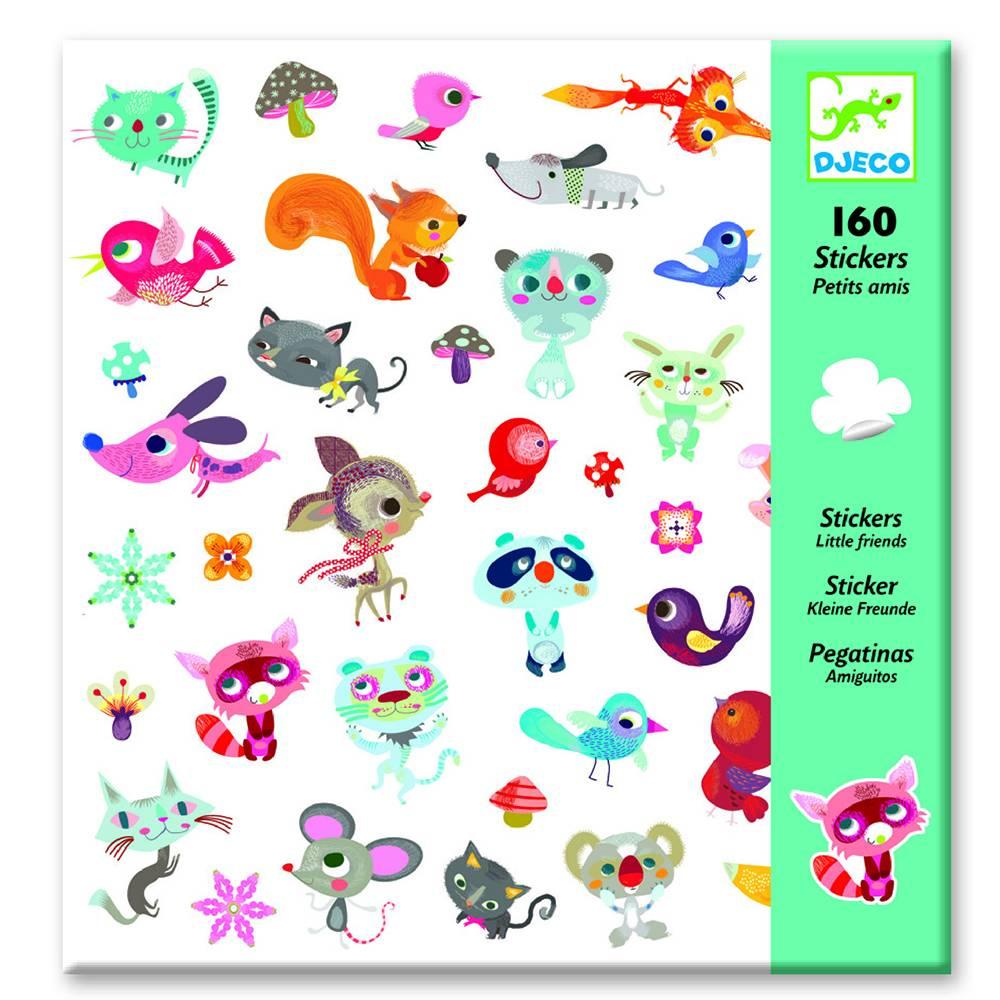 Djeco Stickers vriendjes