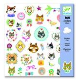 Djeco Stickers poes
