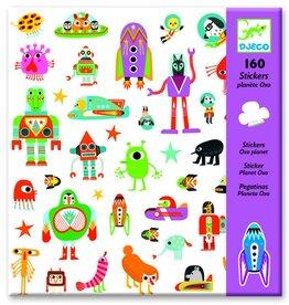 Djeco Stickers ruimte