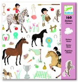Djeco Stickers paard
