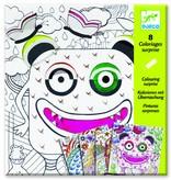 Djeco Kleurverrassing - Enge monsters