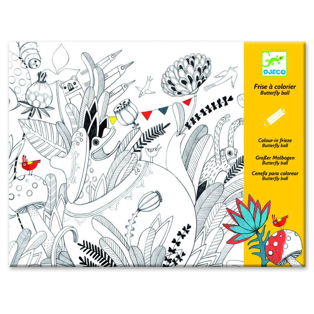Djeco Kleurverrassing - vlindertuin