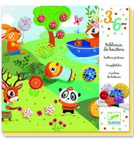 Djeco Knopen borduren - 4 seizoenen