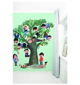 KEK Amsterdam Behang Appelboom - groen