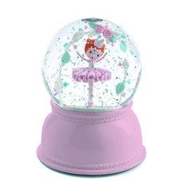 Little BIG Room - Djeco Nachtlampje ballerina sneeuwbol