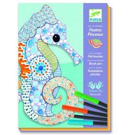 Djeco Zeepaardjes kunst