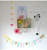 A Little Lovely Company Banner Goud