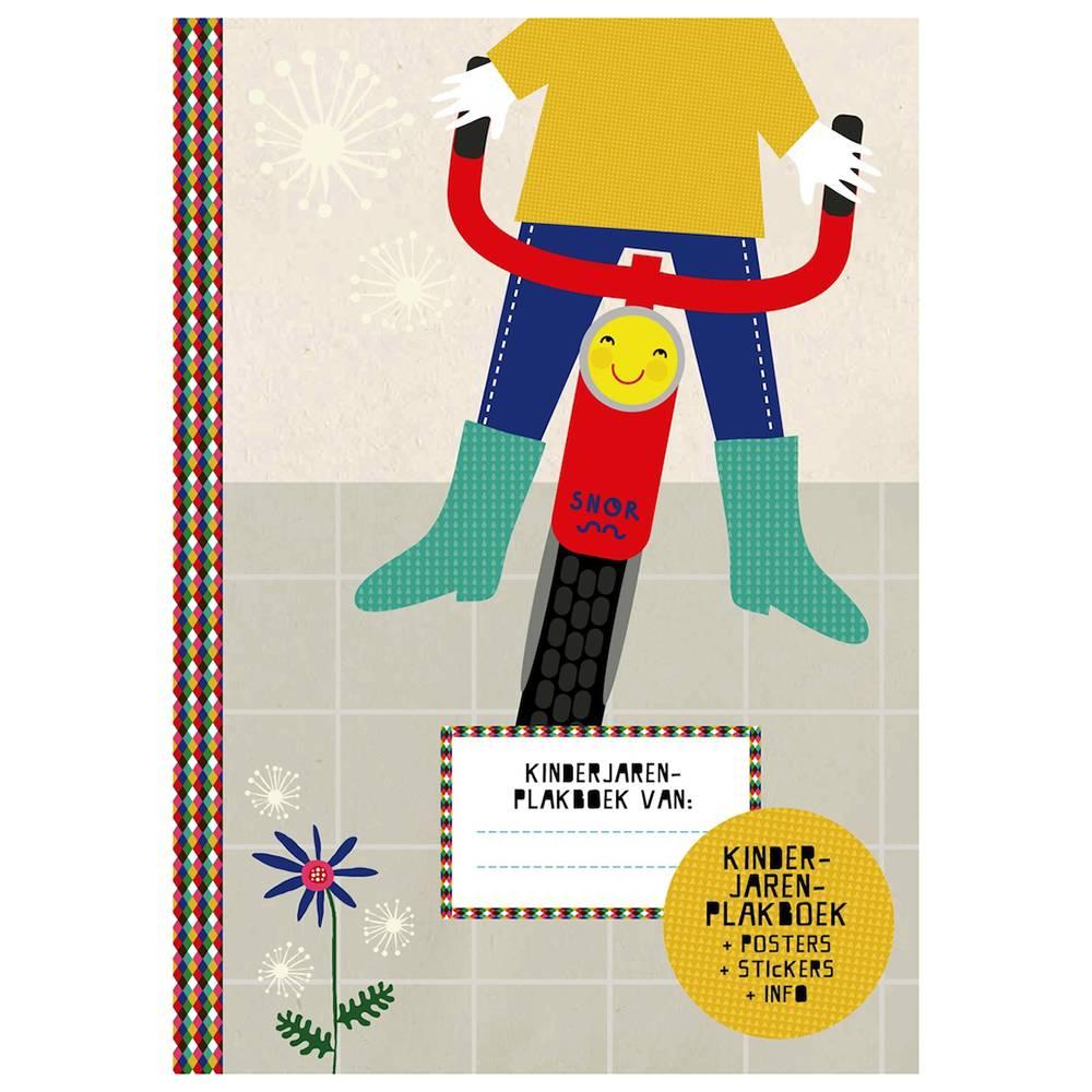 SNOR Kinderjaren plakboek