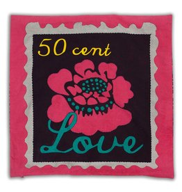 Colorique Chokhi Stamps kussenhoes flower love