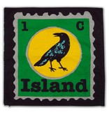 Colorique Chokhi Stamps kussenhoes island vogel