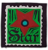 Colorique Chokhi Stamps kussenhoes postzegel ster