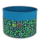 Colorique Chokhi Stamps opbergbox camouflage blauw (S)