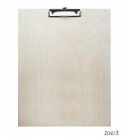 Zoedt Houten klembord - 30 x 40 cm