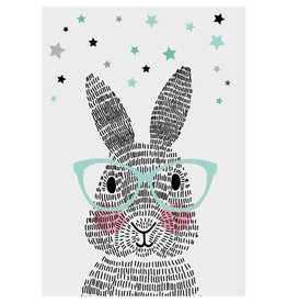 Sparkling Paper Kaart mr Rabbit