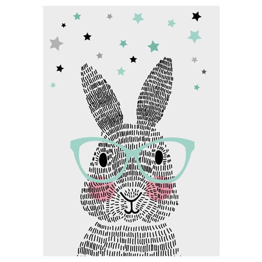 Sparkling Paper Kaart mr Rabbit