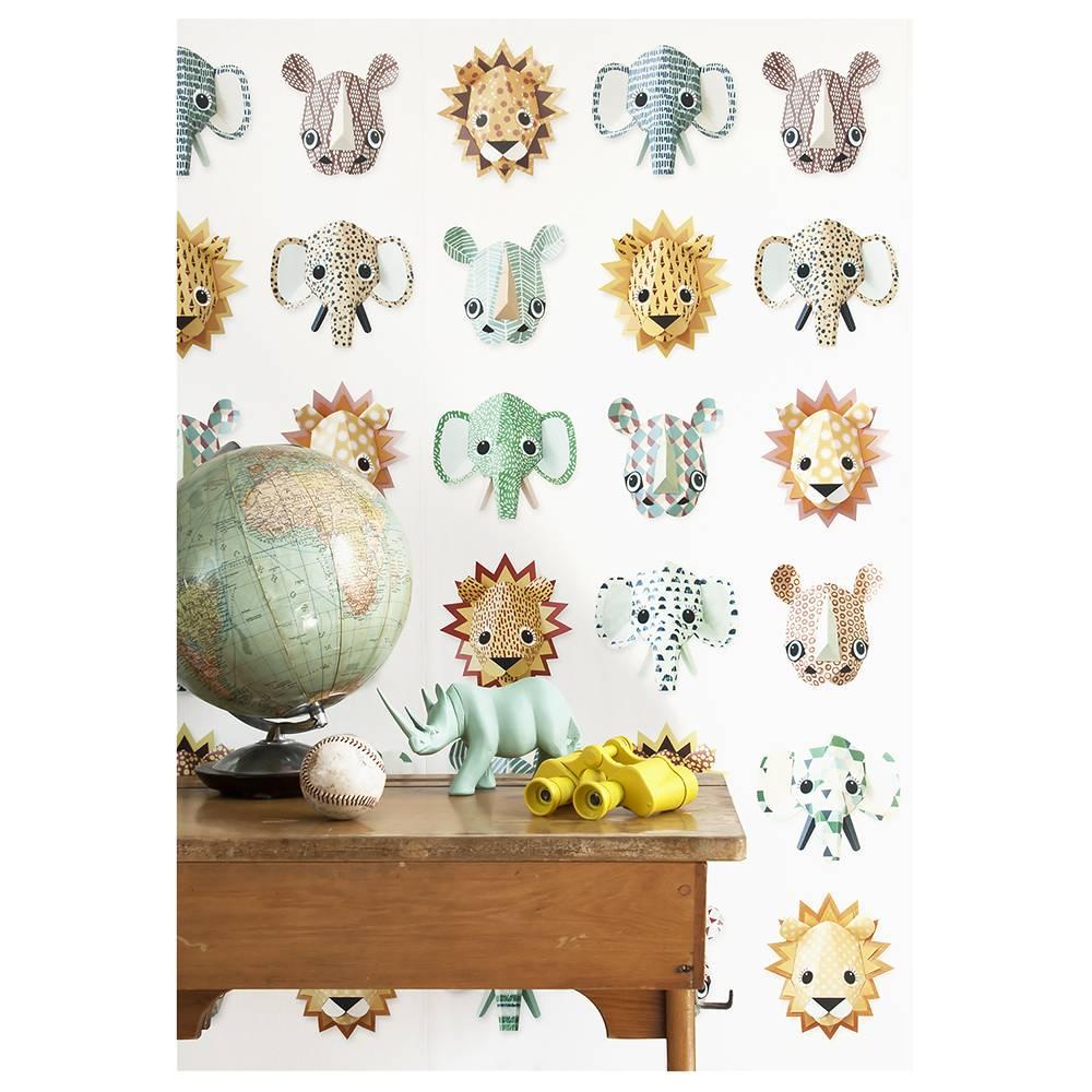 Studio Ditte Wilde dieren behang 'Cool'