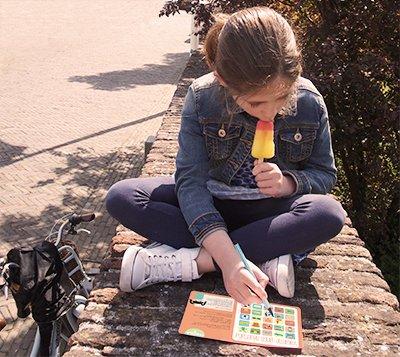 Papiergoed Vakantie bingo Spanje