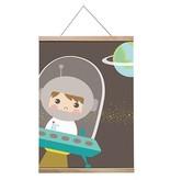 Papiergoed Poster Astronaut A3