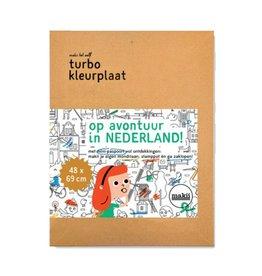 Makii Turbo kleurplaat Nederland