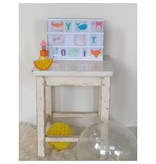 A Little Lovely Company Lightbox letterset ABC pastel