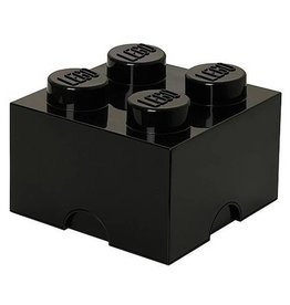 LEGO® Opbergbox Zwart - Classic Brick 4