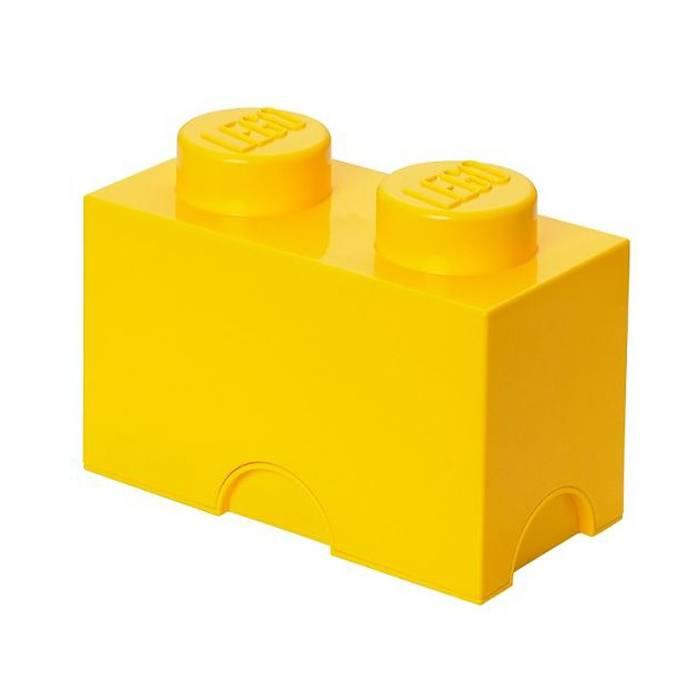 LEGO® Opbergbox Geel - Classic Brick 2