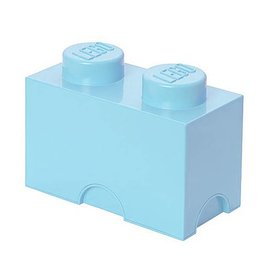 LEGO® Opbergbox Lichtblauw - Classic Brick 2