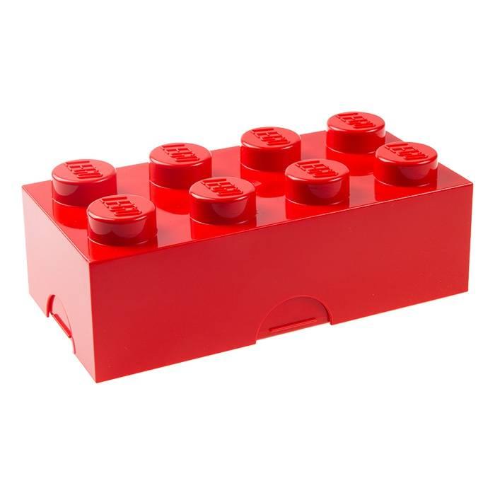 LEGO® Lunchbox rood