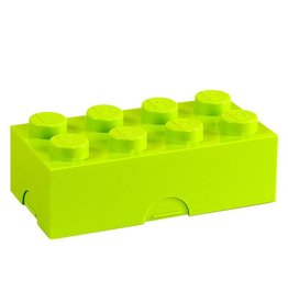 LEGO® Lunchbox lime groen