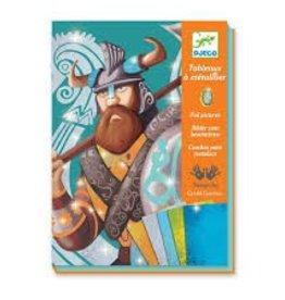 Djeco Kleuren met folie - Vikingen