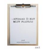 Zoedt Houten klembord - A4