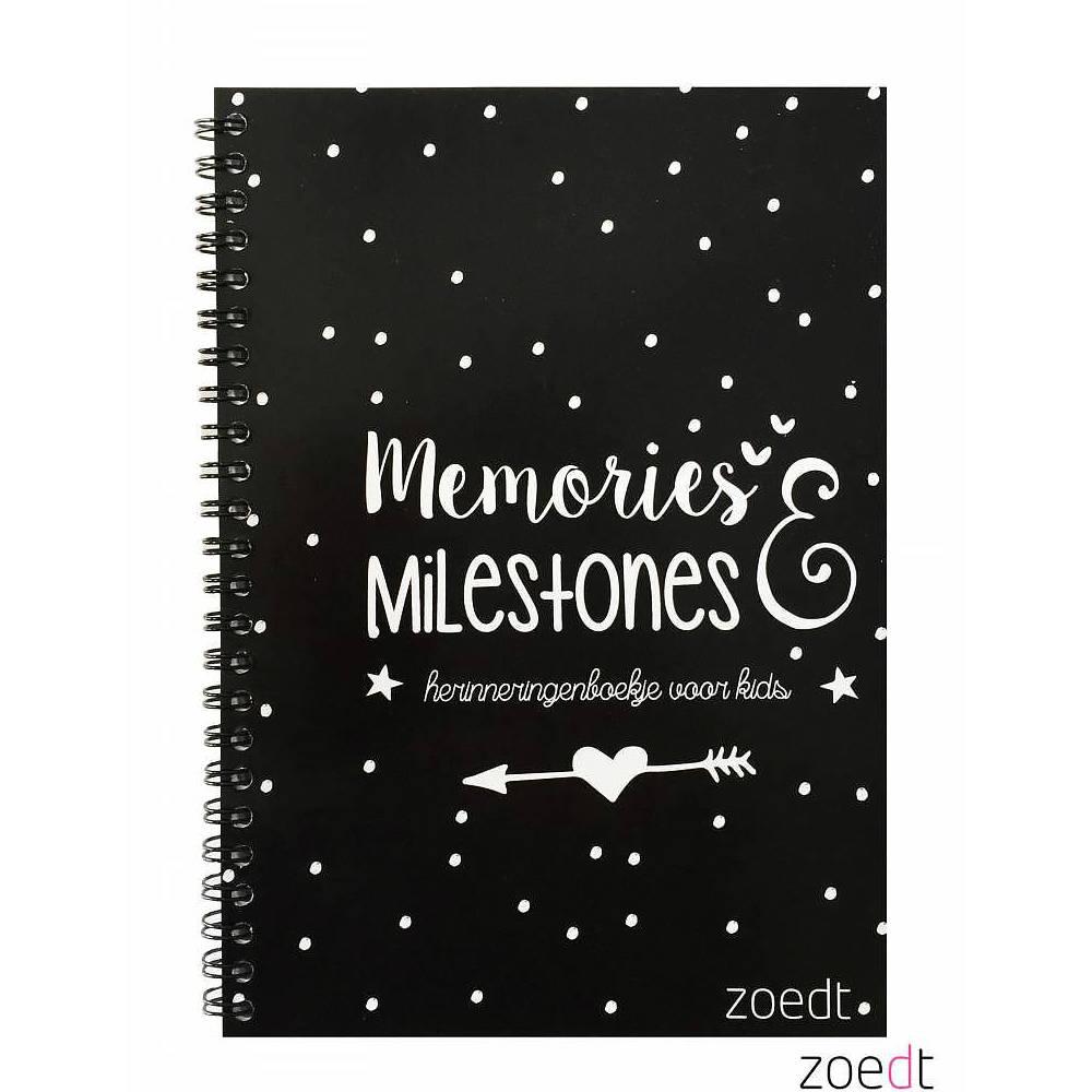 Zoedt Memories en Milestones boekje