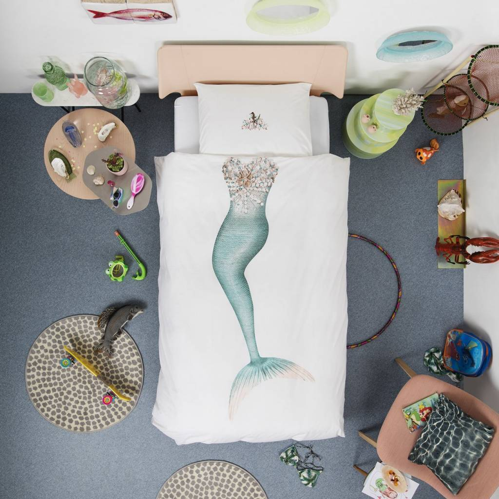 Snurk Zeemeermin dekbedovertrek Mermaid