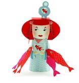 Djeco Paper toys - Kokeshi