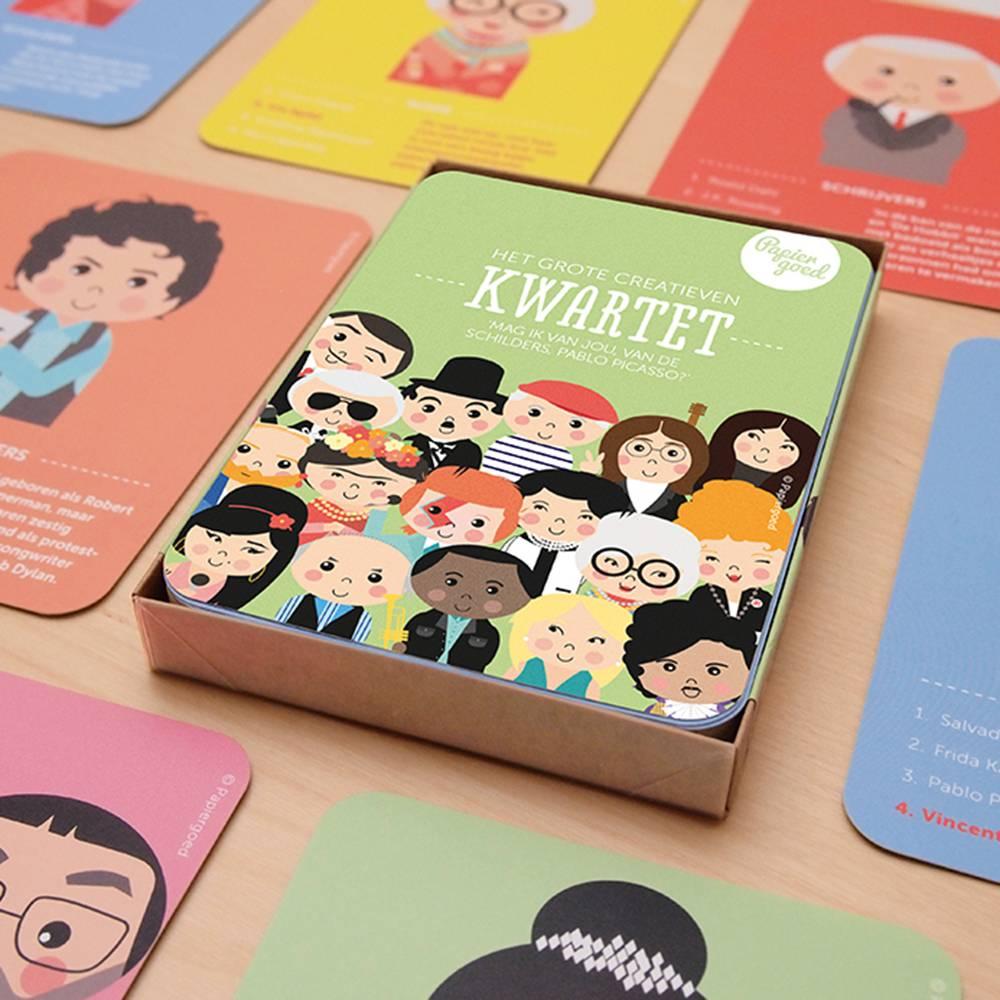 Papiergoed Het Grote Creatieven Kwartet