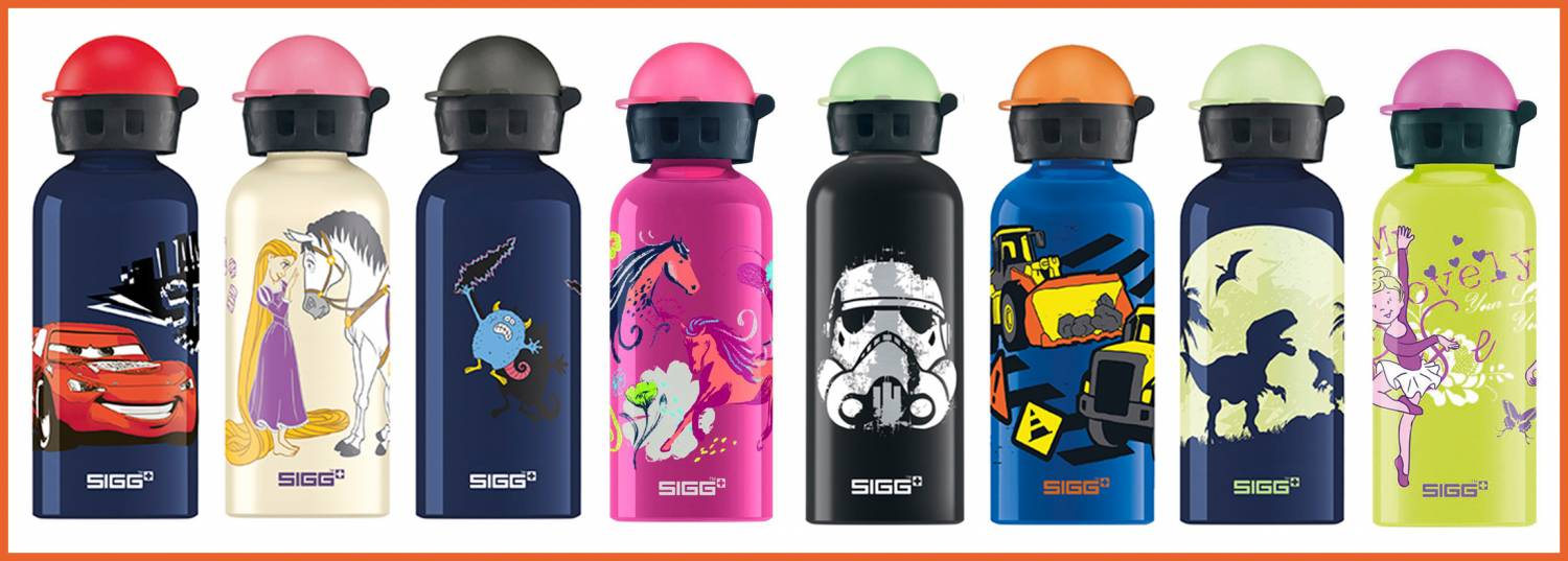 Sigg drinkbekers