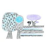 Djeco Wascokrijtjes dieren - blauw