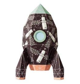 Studio Ditte Muursticker raket satelliet